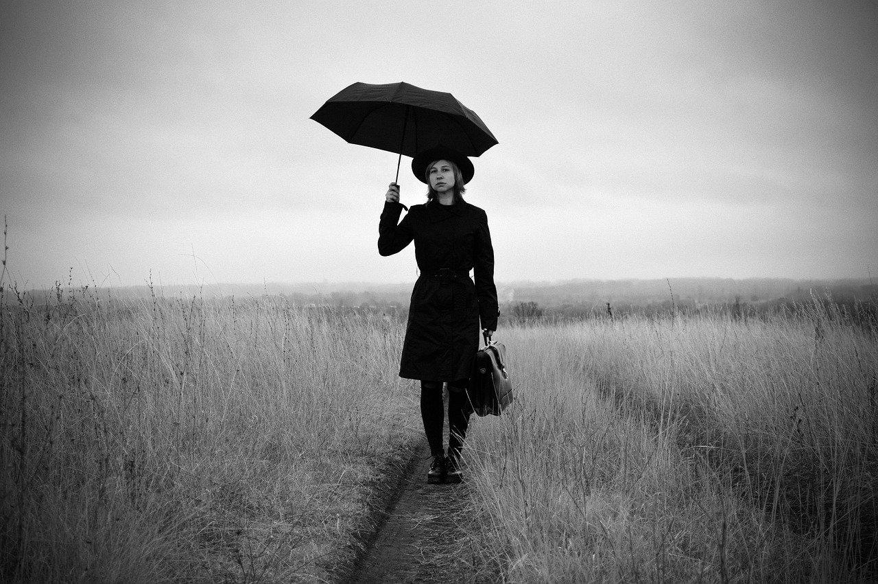 woman, mysterious, traveler