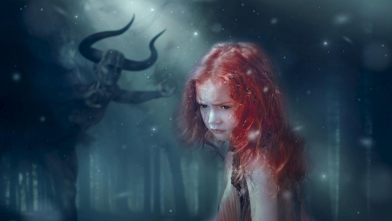 fantasy, forest, mystical