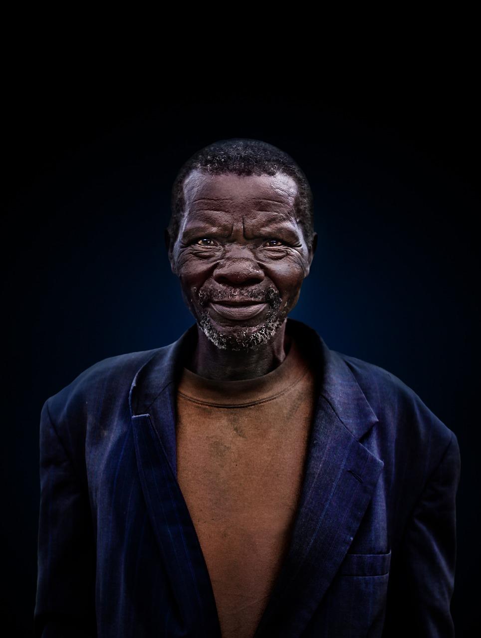 man, portrait, old