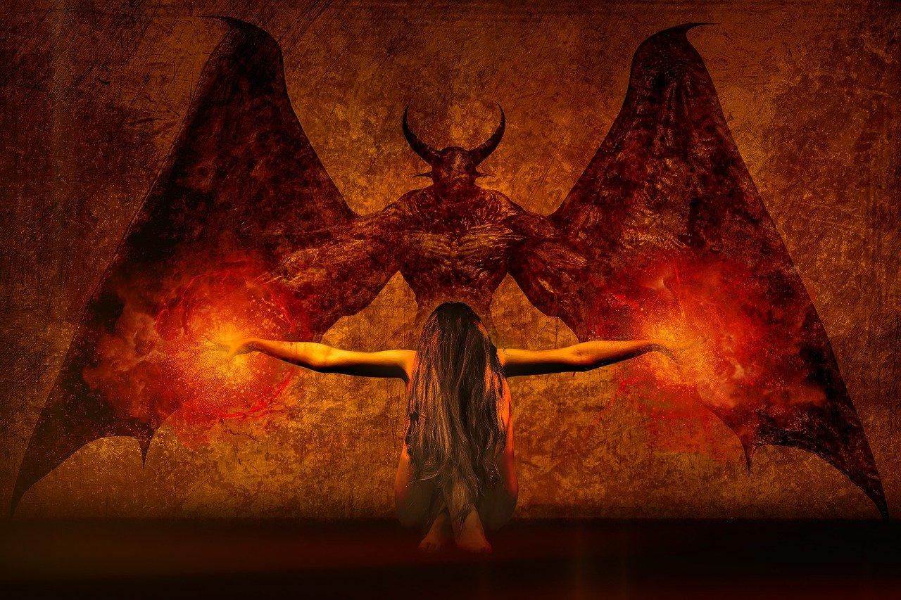 dark art, daemon, the witch
